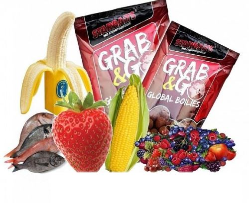 Starbaits Boilie Grab & Go Global Boilies 2,5kg
