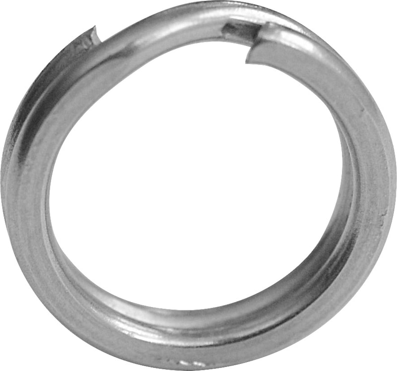 BLACK CAT XTREME SPLIT RING - 12MM-90KG-10KS
