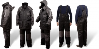 Quantum Termo Komplet Winter Suit Black/Grey